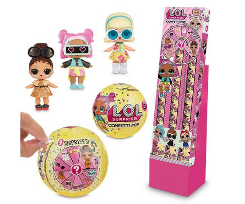 L.O.L SURPRISE S3 CONFETTI POP CDU 18