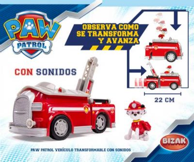 PATRULLA CANINA VEHICULO TRANSFORMABLE