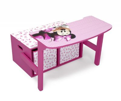 MINNIE MOUSE BANCO / MESA (2 EN 1)