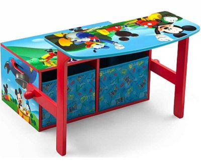 MICKEY MOUSE BANCO / MESA (2 EN 1)