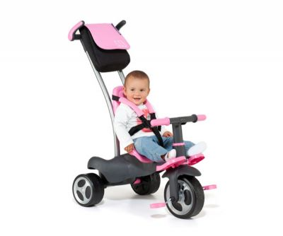 TRICICLO MOLTO URBAN TRIKE WITH BAG ROSA