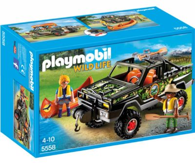 PLAYMOBIL PICK UP DE AVENTURA 5558