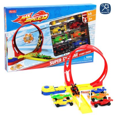 PISTA LOOPING 6 COCHES