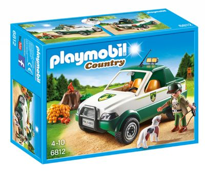 PLAYMOBIL GUARDABOSQUE CON PICK UP 6812