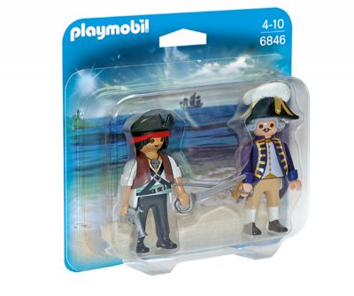 Playmobil Duo Pack Pirata y Soldado 6846
