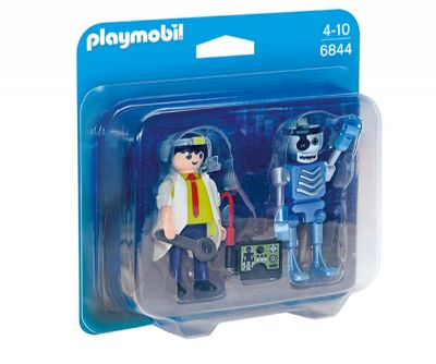 Playmobil Duo Pack Científico y Robot 6844
