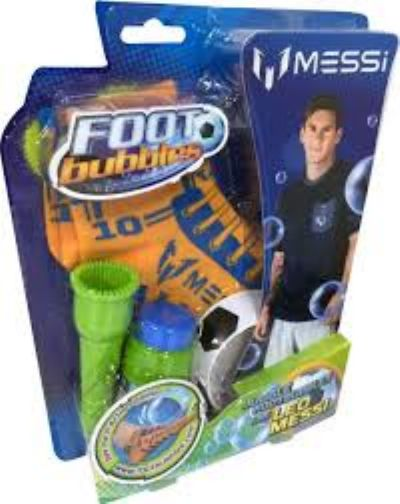 FOOT BUBBLES MESSI STARTER PACK