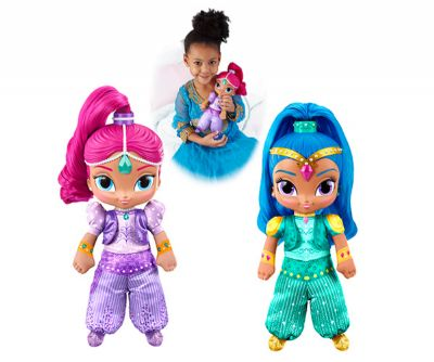 SHIMMER AND SHINE HABLA Y CANTA