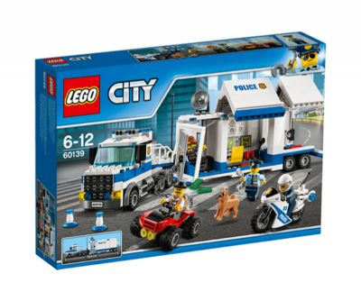 LEGO CITY CENTRO DE CONTROL MOVIL 60139
