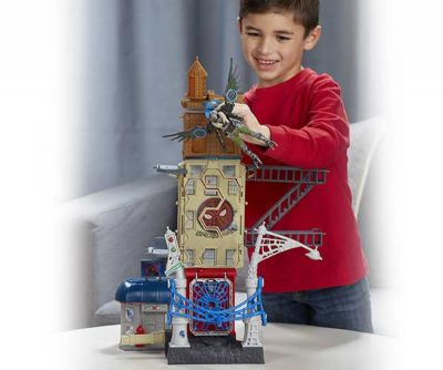 SPIDERMAN WEB CITY PLAYSET 15 CM