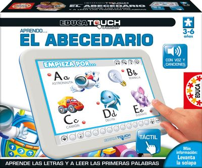 EDUCA TOUCH JUNIOR APRENDO EL ABECEDARIO 15435