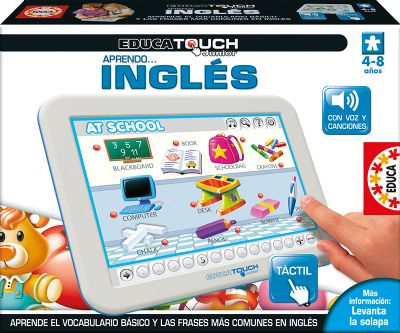 EDUCA TOUCH JUNIOR APRENDO INGLÉS 15438