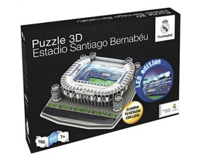 PUZZLE 3D REAL MADRID LED EDITION