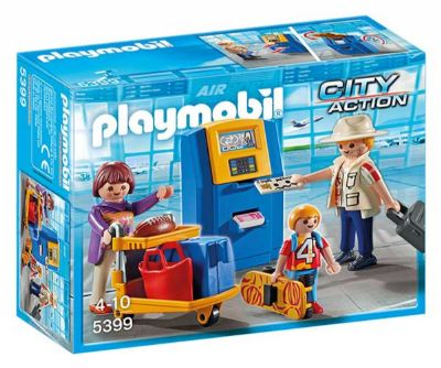 PLAYMOBIL FAMILIA CHECK- IN 5399