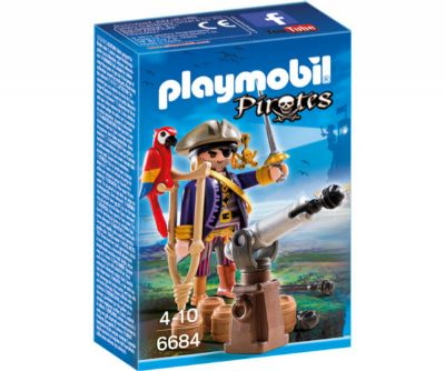 PLAYMOBIL CAPITAN PIRATA 6684