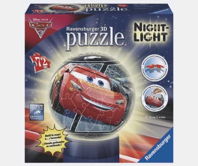 PUZZLEBALL LAMPARA 72P CARS 3