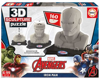 3D Sculpture Puzzle Iron Man. 16884