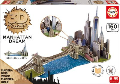 3D Monument Puzzle Manhattan dream  17000