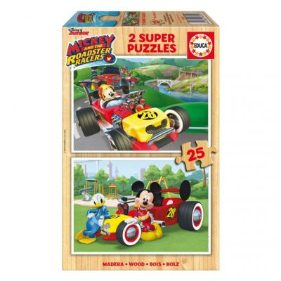 PUZZLE 2x25 MICKEY AND THE ROADSTER RACERS 17234
