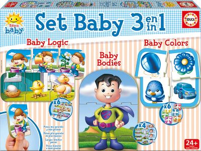 Set Baby educativos 3 en 1 - 17058