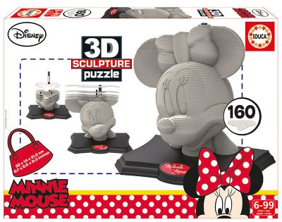 3D Sculpture Puzzle Minnie . 16970