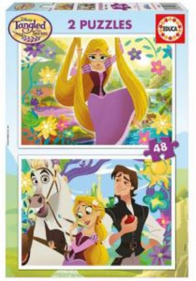 PUZZLE 2x48 TANGLED RAPUNZEL 17283