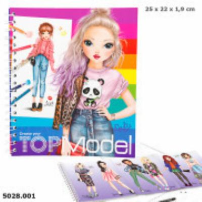 Create your TOP Model cuarderno para colorear 5028