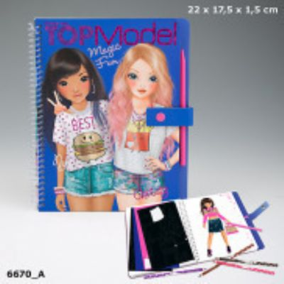 Magic Fun cuarderno para colorear TOPModel  6670