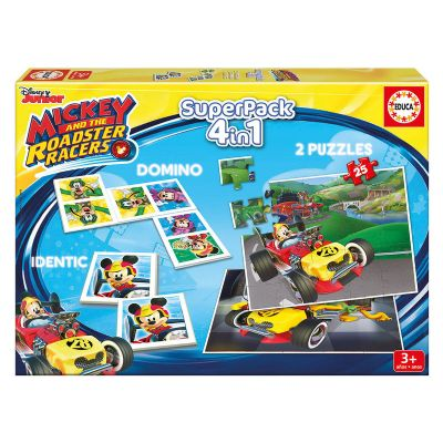 SUPERPACK MICKEY AND THE ROADSTER RACERS 17223