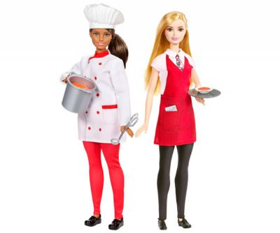 BARBIE CHEF Y CAMARERA