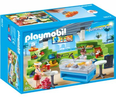 PLAYMOBIL SPLISH SPLASH CAFE 6672