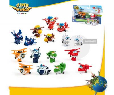 SUPER WINGS TRANSFORMING PEQUEÑOS