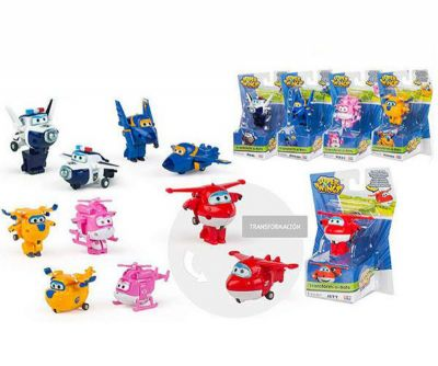 SUPER WINGS TRANSFORM-A-BOTS!