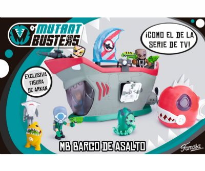 MUTANT BUSTERS BUQUE ASALTO