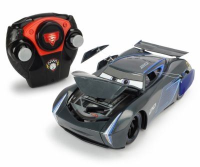 CARS 3 RC JACKSON STORM CRASH CAR 1:24