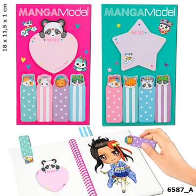 MANGA Model Sticky Notes