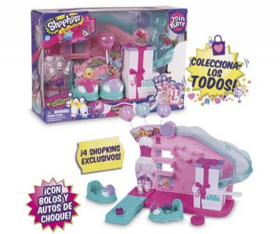 SHOPKINS S7 CC PLAYSET PARTY GAME ARCADE