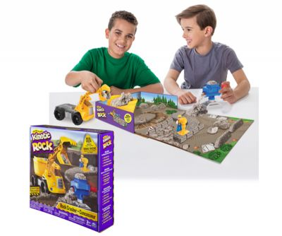 KINETIC SAND ROCK PLAYSET TRITURADORA