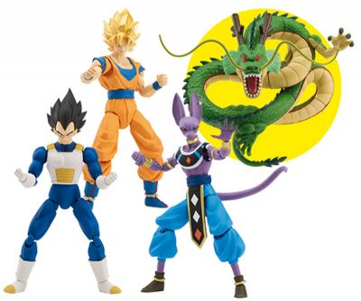 DRAGON BALL FIGURAS DELUXE