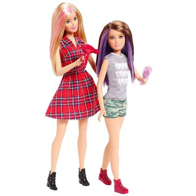 Barbie y Skipper - Pack 2 Hermanas