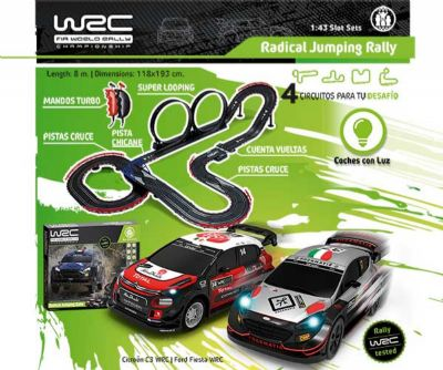 WRC RADICAL JUMPING RALLY