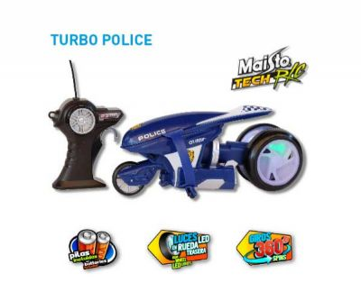 RADIO CONTROL TURBO POLICE