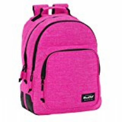 MOCHila DAY PACK DOBLE  BLACKFIT8 PINK