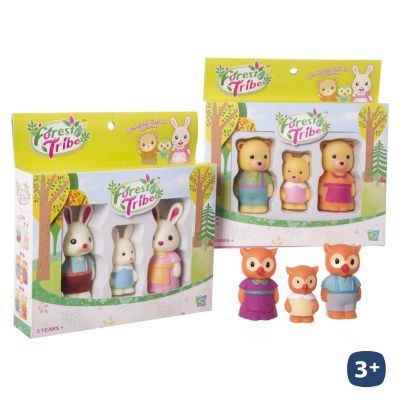 SET FIGURAS FOREST TRIBE