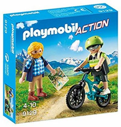 PLAYMOBIL CICLISTA Y EXCURSIONISTA 9129