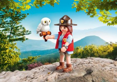 PLAYMOBIL GUARDA FORESTAL 9337