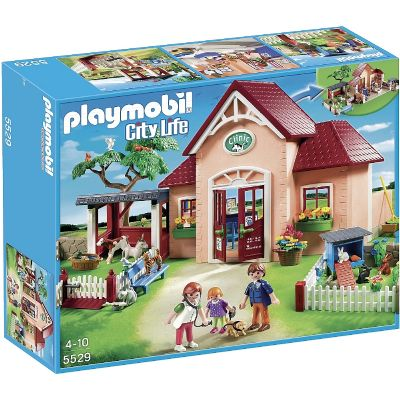 PLAYMOBIL CLINICA VETERINARIA 5529