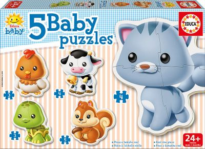 BABY PUZZLES ANIMALES 13473