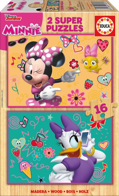 PUZZLE 2X16 MINNIE AYUDANTES FELICES 17623