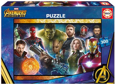 PUZZLE 300 AVENGERS: INFINITY WAR 17642